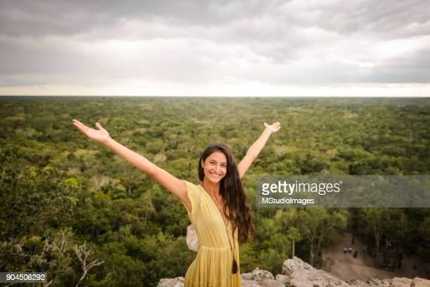 disfrutar de méxico. - paisajes de mejico fotografías e imágenes de stock