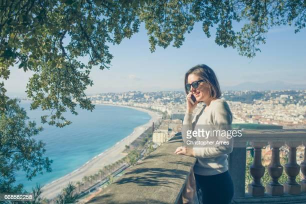 いい南フランスと地中海の景色を楽しんでください。