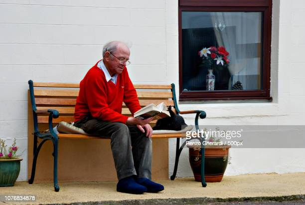 enjoying retirement - renzo gherardi stock photos and pictures