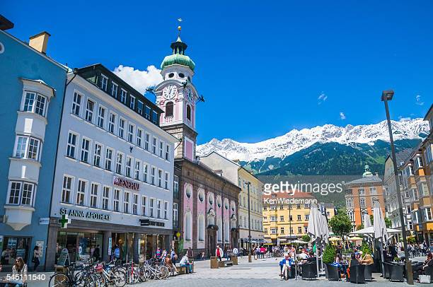 Enjoying Springtime in Innsbruck