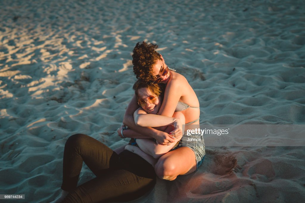 Enjoying summer and love : Stock Photo
