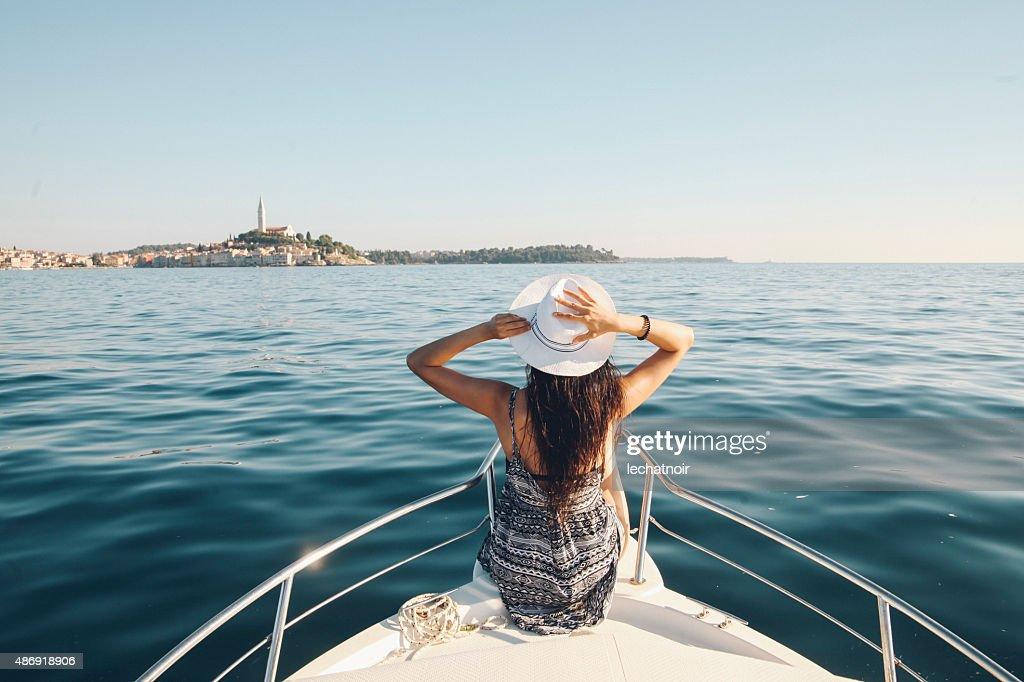 Profitez de l'été sur the croate en bord de mer : Photo