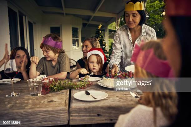 Enjoying sweet traditions