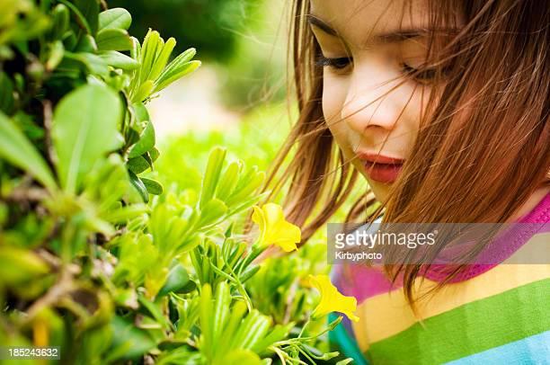 Genießen Sie die Blumen