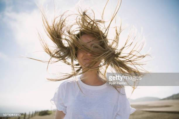 enjoying the fresh sea air - wind stock pictures, royalty-free photos & images