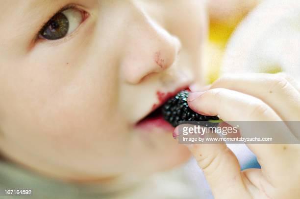 Enjoying the fruit