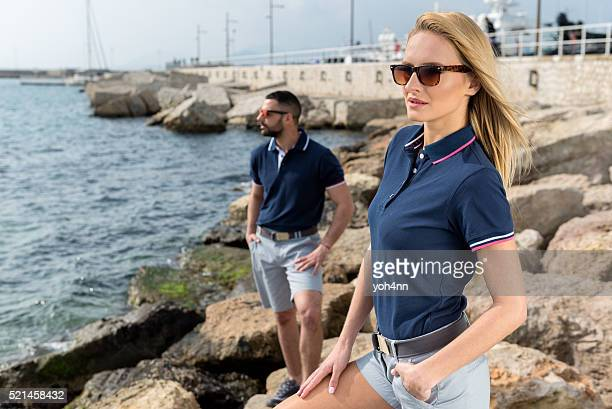 Enjoying the Mediterranean sea