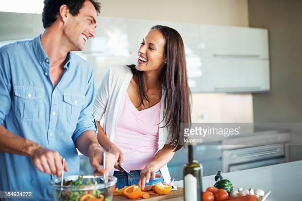 Genießen Sie den moment im Küche