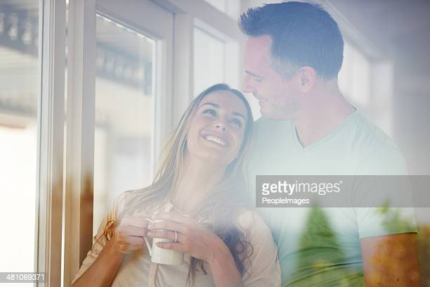 Enjoying the morning together