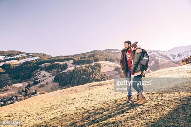 Disfruta de la vista a las montañas