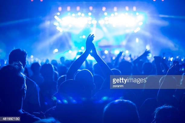 enjoying the music - club dj stock pictures, royalty-free photos & images