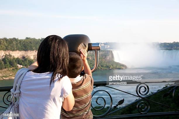 Enjoying the Niagara Falls