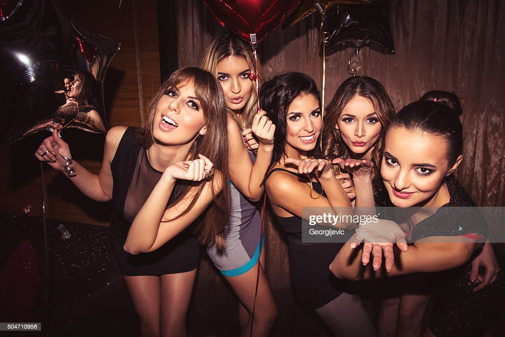 Enjoying the nightlife : Stock Photo