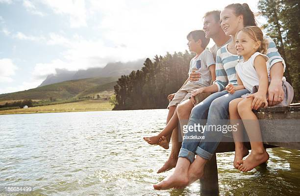 enjoying the outdoors together - pier stock pictures, royalty-free photos & images