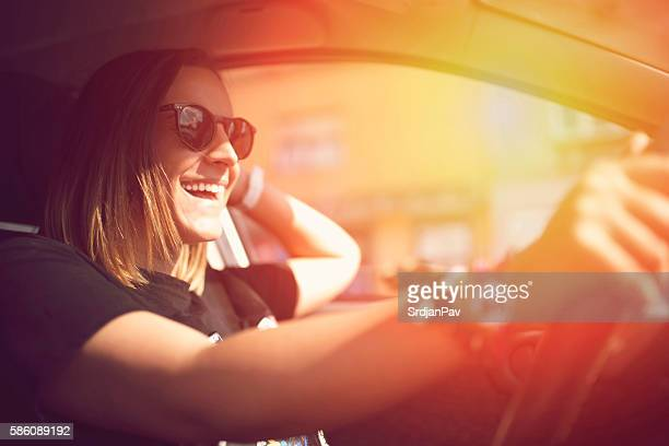 enjoying the ride - driver stock pictures, royalty-free photos & images