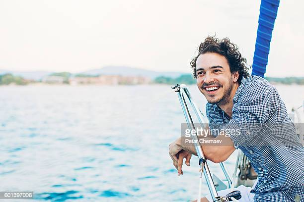 enjoying the sea - passenger craft stock pictures, royalty-free photos & images