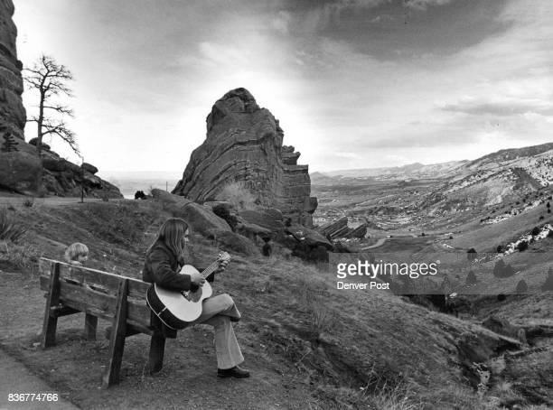 Enjoying The Serenity Of Red Rocks Will Porter sings to his 21/2yearold son in the serenity of the Red Rocks amphitheater Thursday as the...