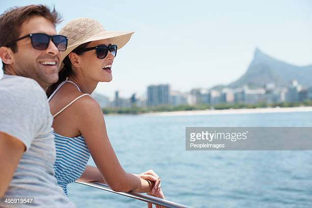 enjoying the sights - deck stock pictures, royalty-free photos & images