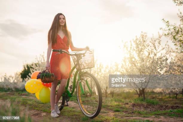 Genießen Sie den Frühling mit meinem Fahrrad