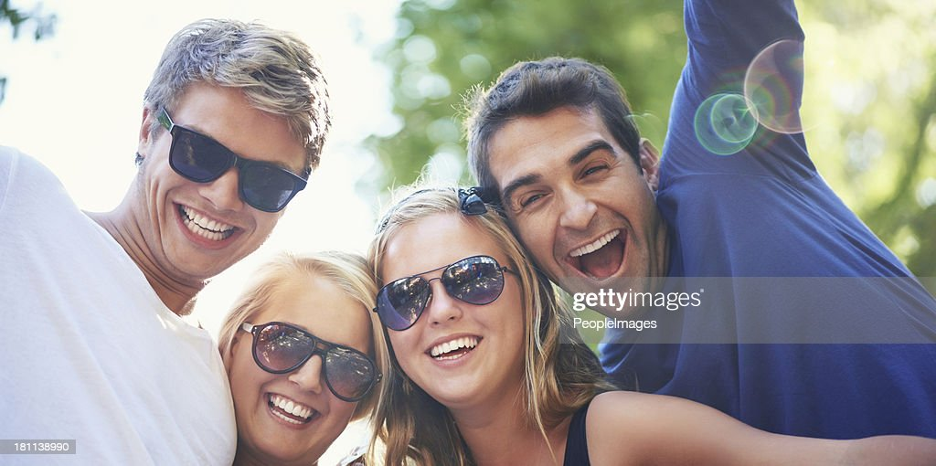 Enjoying the vibe! : Stock Photo