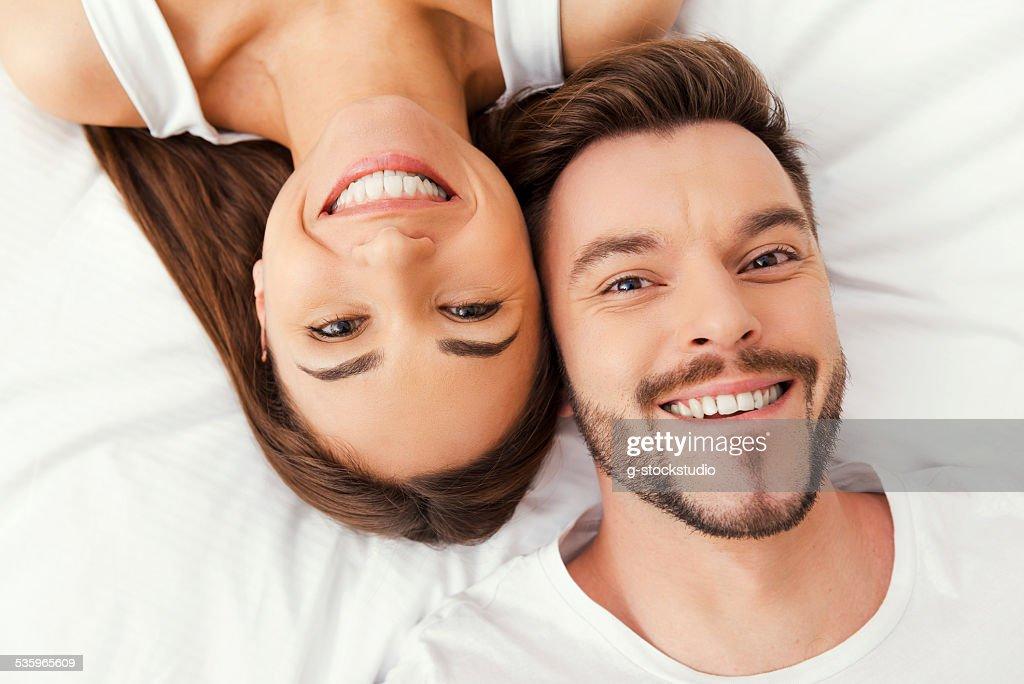Enjoying their time together. : Stock Photo