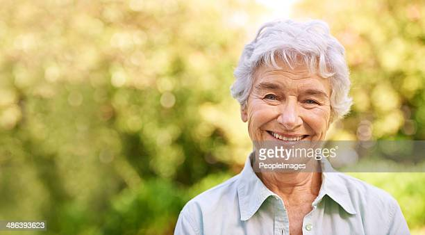 enjoying those golden years - white hair stock photos and pictures