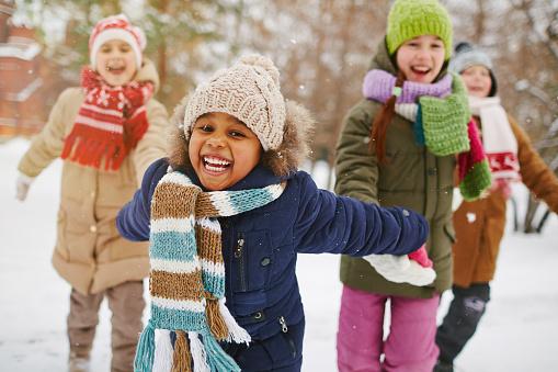 Enjoying winter day 500388348