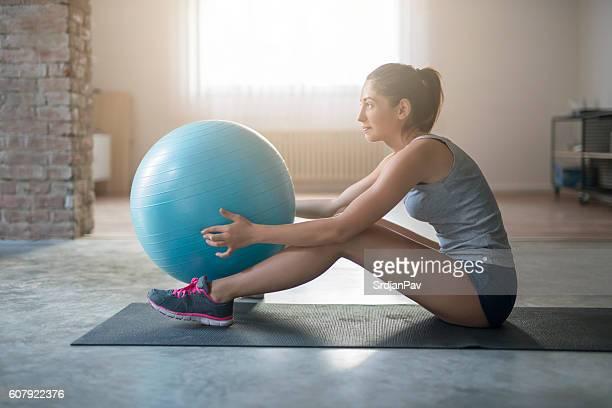 Enjoyment with pilates