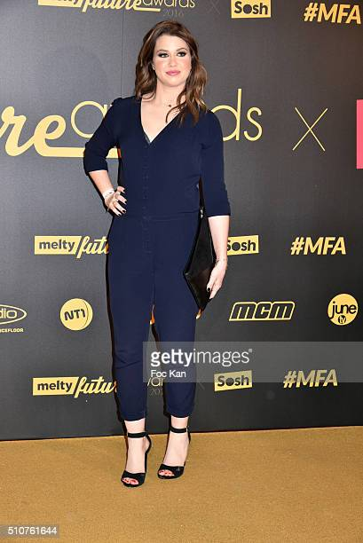 Enjoyphoenix attends The Melty Future Awards 2016 at Le Grand Rex on February 16 2016 in Paris France