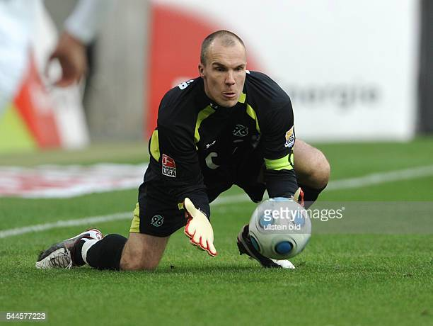Enke Robert Football Goalkeeper Hannover 96 Germany in action on the ball