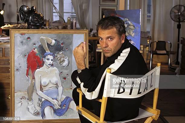 Enki Bilal in Paris France on January 01 1997