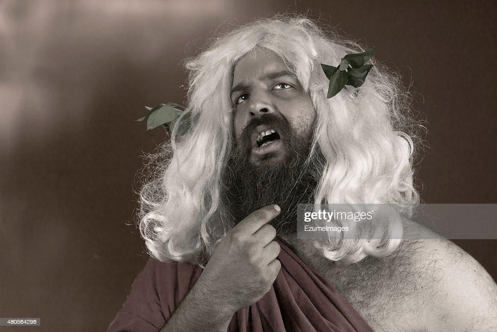 Enlightening God : Stock Photo