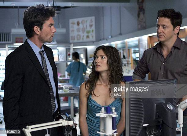 JORDAN 'Enlightenment' Episode 5 Pictured Jerry O'Connell as Detective Woody Hoyt Jill Hennessy as Dr Jordan Cavanaugh Charles Mesure as JD Pollack...