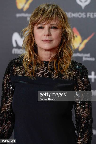 Enma Suarez attends Feroz Awards 2018 at Magarinos Complex on January 22 2018 in Madrid Spain
