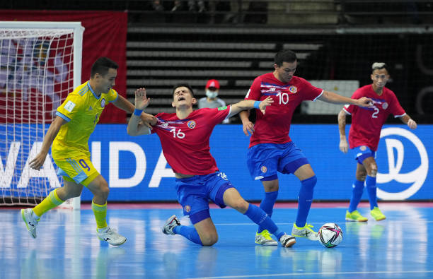 LTU: Kazakhstan v Costa Rica: Group A - FIFA Futsal World Cup 2021