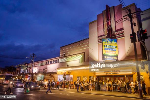 teatro enmore - edificio de eventos fotografías e imágenes de stock