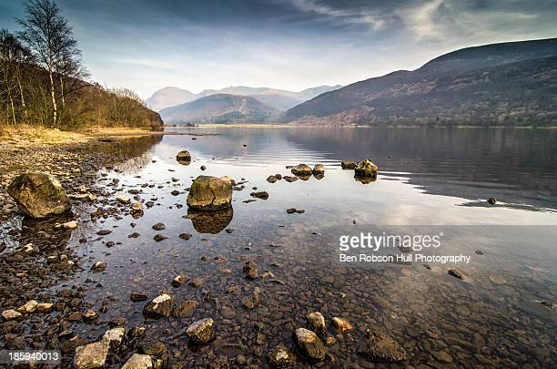 Ennerdale Water Landscape Nature Valley Rocks Lake