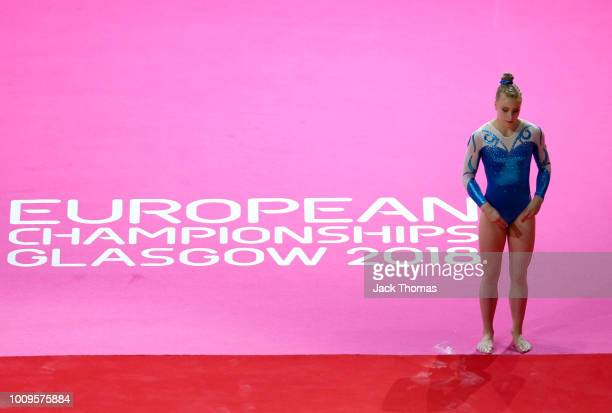 Enni Kettunen of Finland competes in the floor exercise during Rotation 3 of the Team Women event qualification subdivision 2 during the Team Women...
