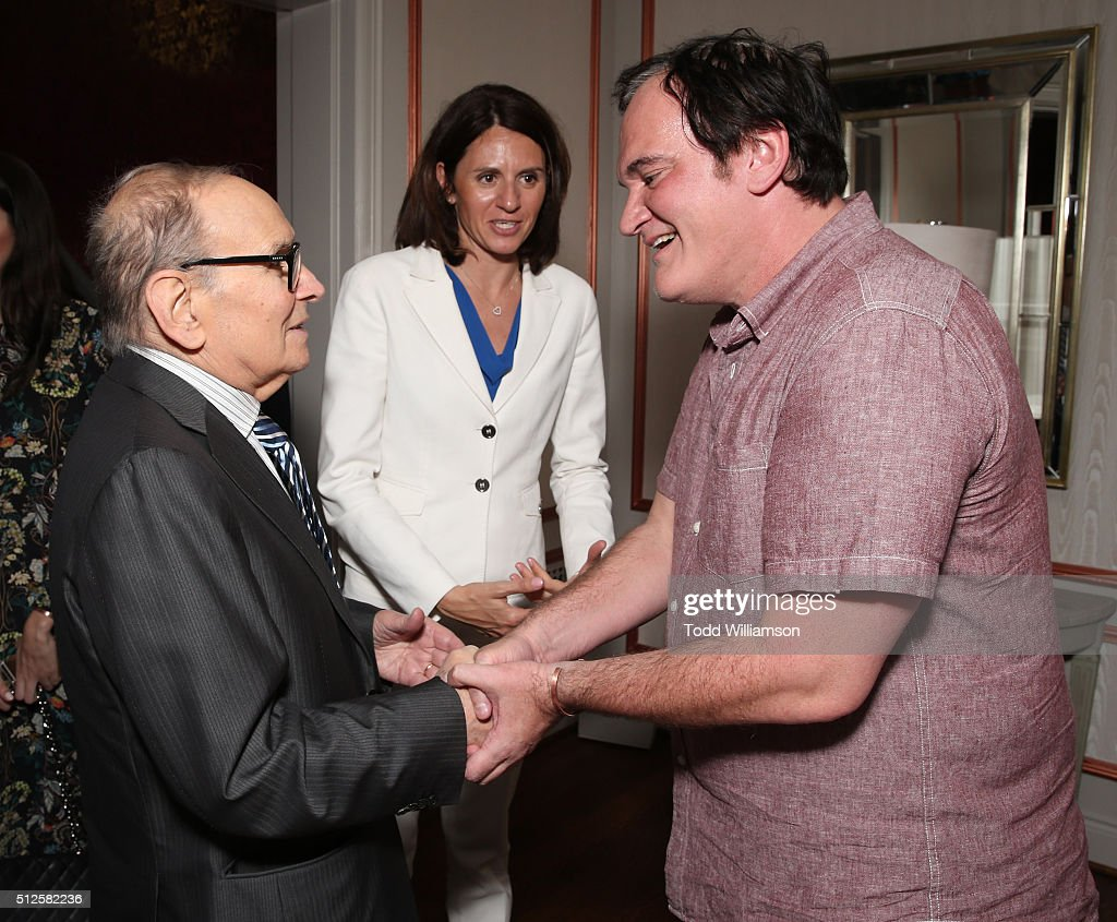 The Weinstein Company's Celebratory Lunch For Ennio Morricone Hosted At The Private Residence Of Jonas Tahlin, CEO Absolut Elyx : News Photo