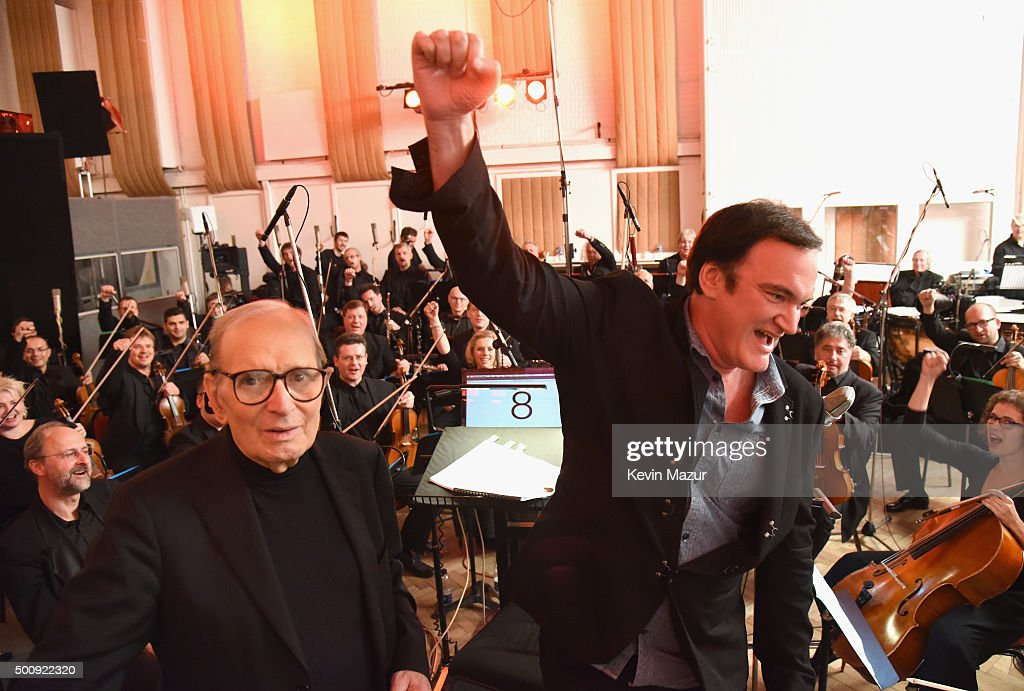 "Ennio Morricone - Live Recording ""H8ful Eight"" Soundtrack - Day 2 : News Photo"