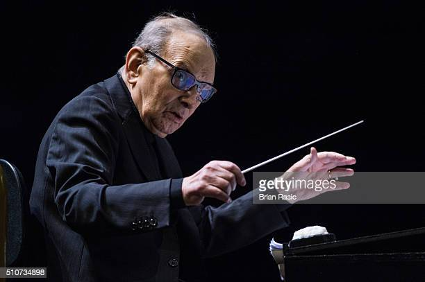 Ennio Morricone Performs at The O2 Arena on February 16 2016 in London England