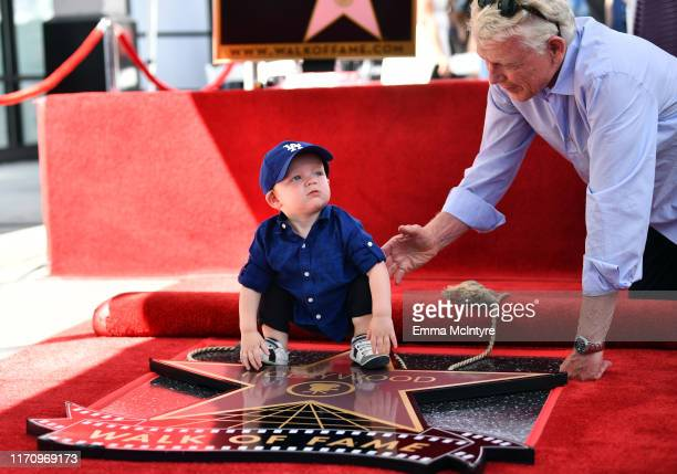 Ennis Howard Plemons attends the ceremony honoring Kirsten Dunst with a star on the Hollywood Walk of Fame on August 29, 2019 in Hollywood,...
