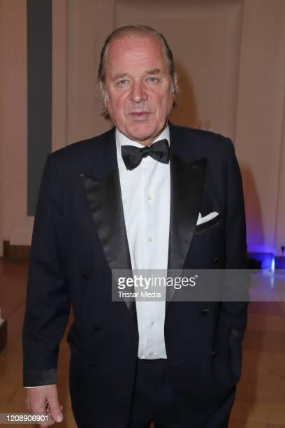 Enno von Ruffin during the 23 Blauer Ball at Hotel Atlantic Kempinski on February 22 2020 in Hamburg Germany