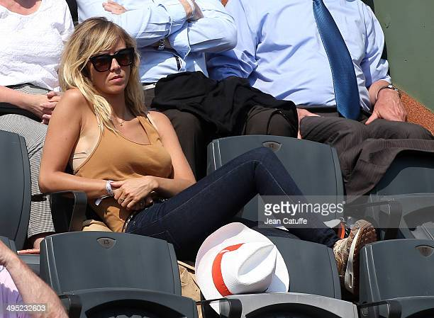 Enora Malagre attends Day 7 of the French Open 2014 held at RolandGarros stadium on May 31 2014 in Paris France