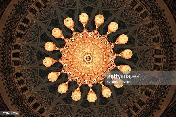 Enormous chandelier