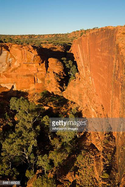Enormous Kings Canyon in outback Australia