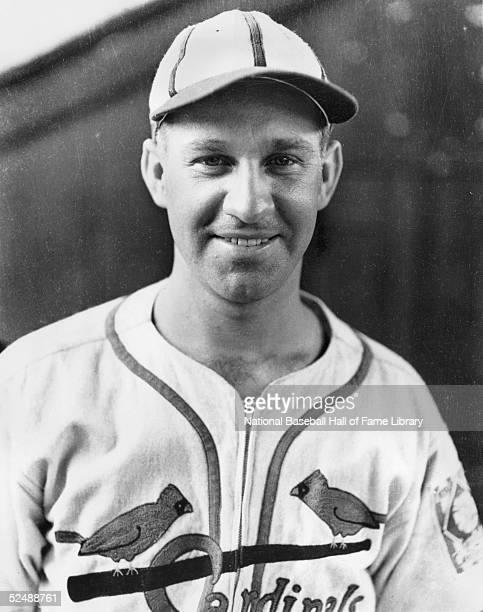 Enos Slaughter of the St Louis Cardinals poses for a portrait Slaughter played for the Cards from 193853