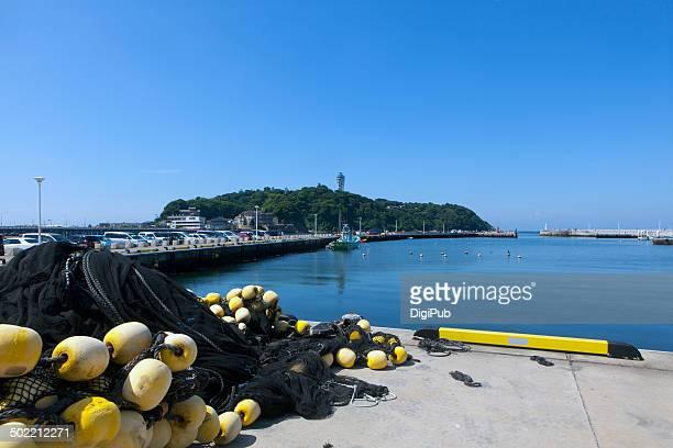 Enoshima and Katase fishing port
