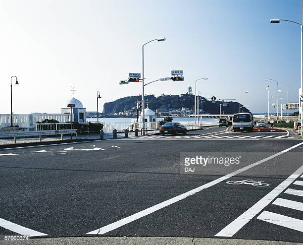enoshima intersection - kanagawa prefecture stock pictures, royalty-free photos & images