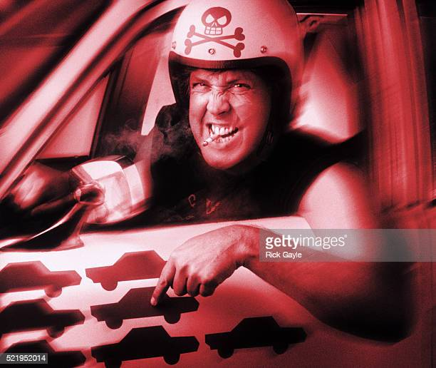 Enraged driver